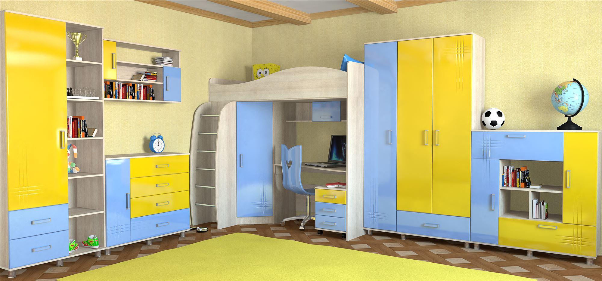 Алешка МДФ детская мебель