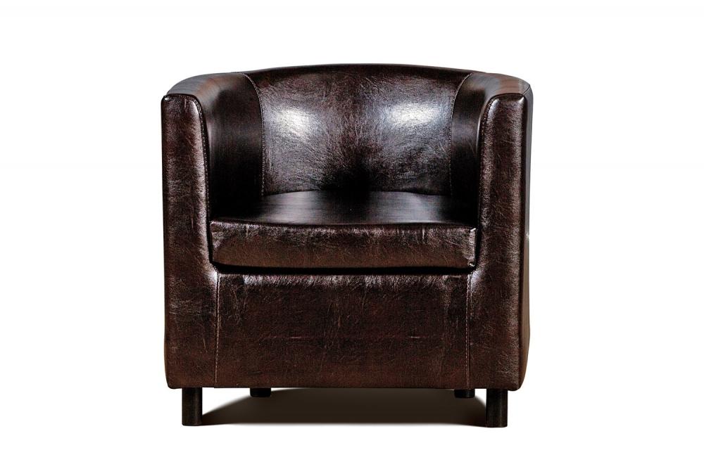 Дисо 3 042.08 кресло 1х К/З Рекс 320 коричневый - 1