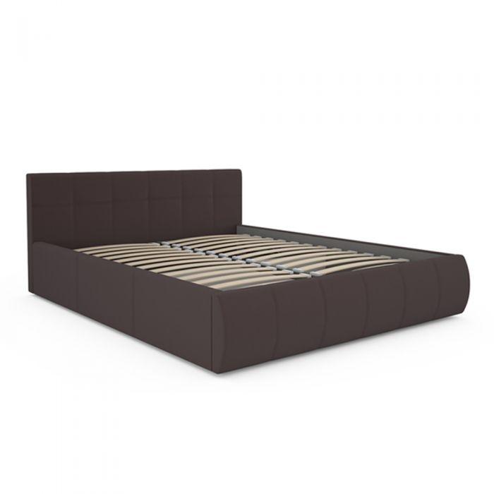 Афина 2812 160 Кровать коричневая - 1