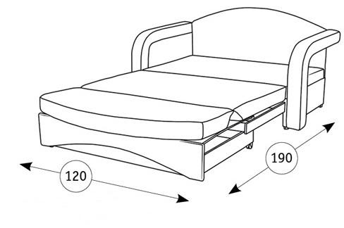 Антошка диван-кровать - 2