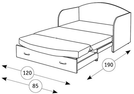 Антошка 1 диван-кровать - 2