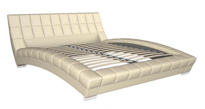 Оливия 160 Кровать белая - 1