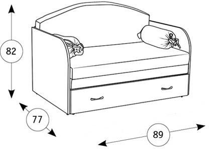 Антошка 1 85 кресло-кровать - 1