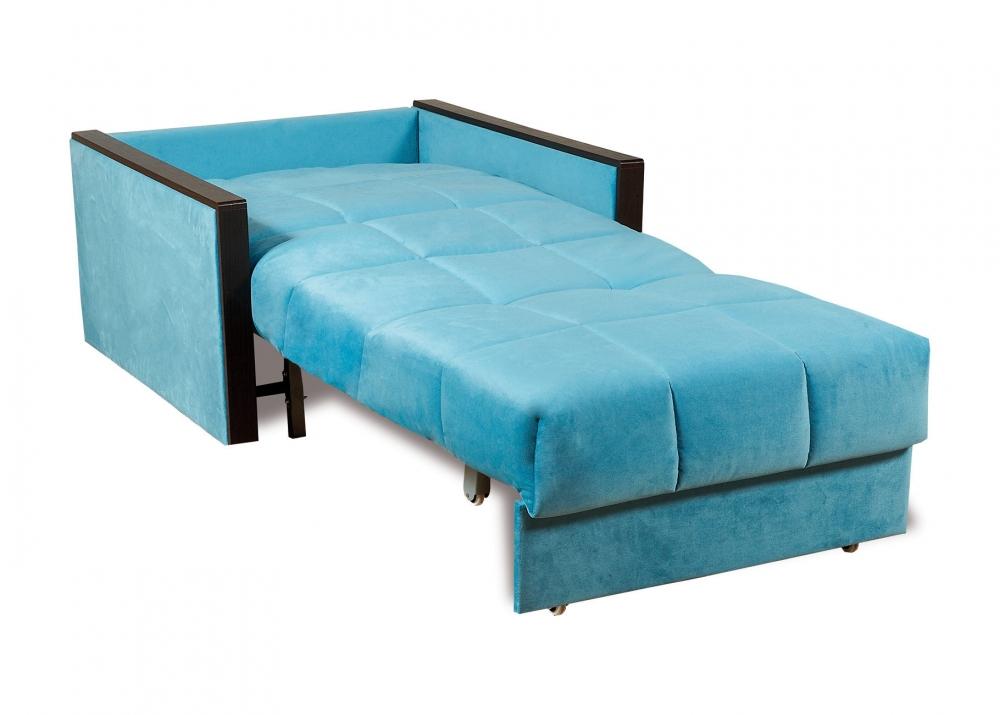 Орион 084 диван-кровать 1а 80 С68/Б86/П00 245бирюза - 2