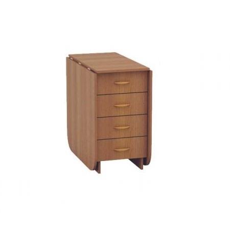 Глория 606 М Стол-книжка с ящиками - 1