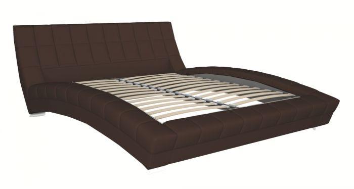 Оливия 160 Кровать коричневая - 1