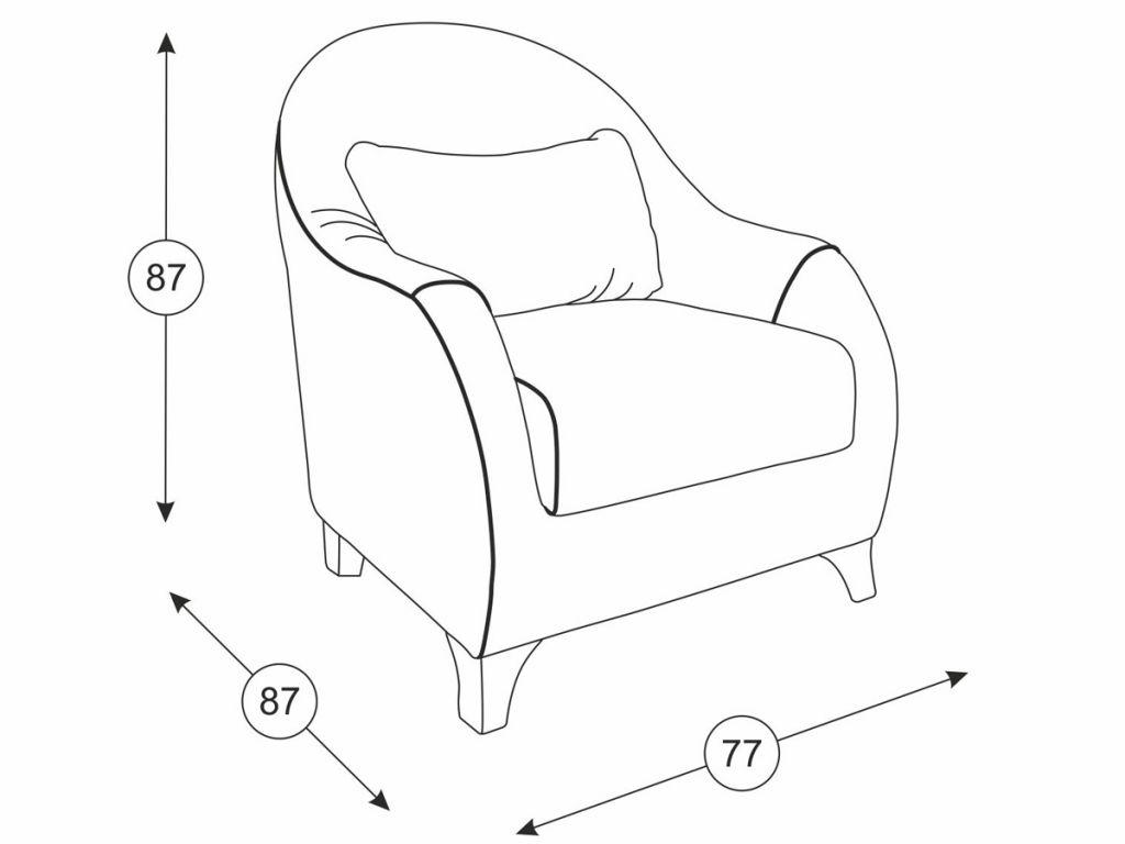Этюд кресло для отдыха - 1