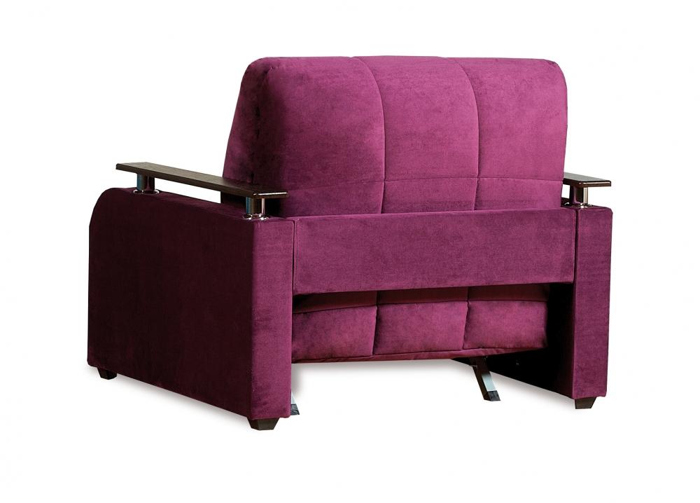 Неаполь 086 диван-кровать 1а 80 С68/Б88/П00 244 фиолет - 3