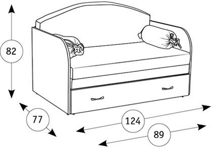 Антошка 1 диван-кровать - 1