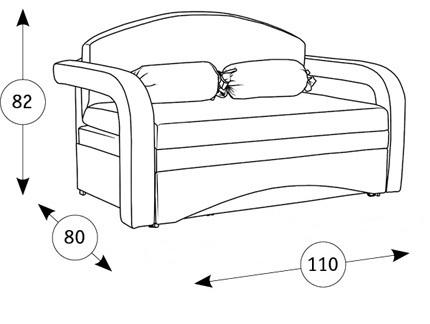 Антошка 85 кресло-кровать - 1