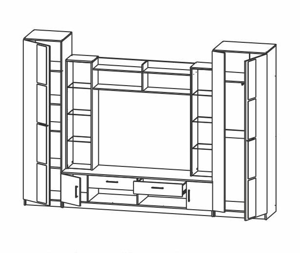 Атрия-2 стенка - 1