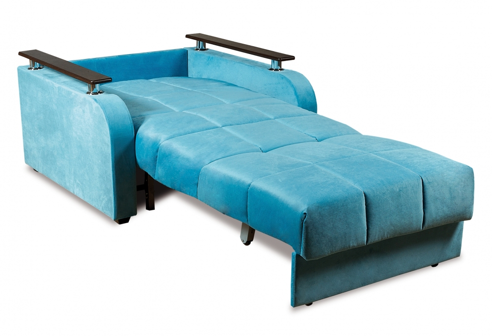 Неаполь 086 диван-кровать 1а 80 С68/Б88/П00 245бирюза - 2