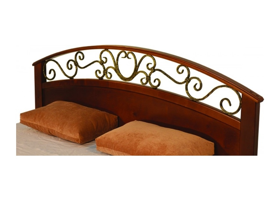 Омега Люкс (КАМЕЛИЯ) кровать без спинки в ногах - 1