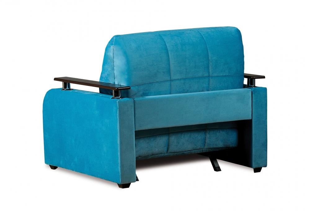 Неаполь 086 диван-кровать 1а 80 С68/Б88/П00 245бирюза - 3
