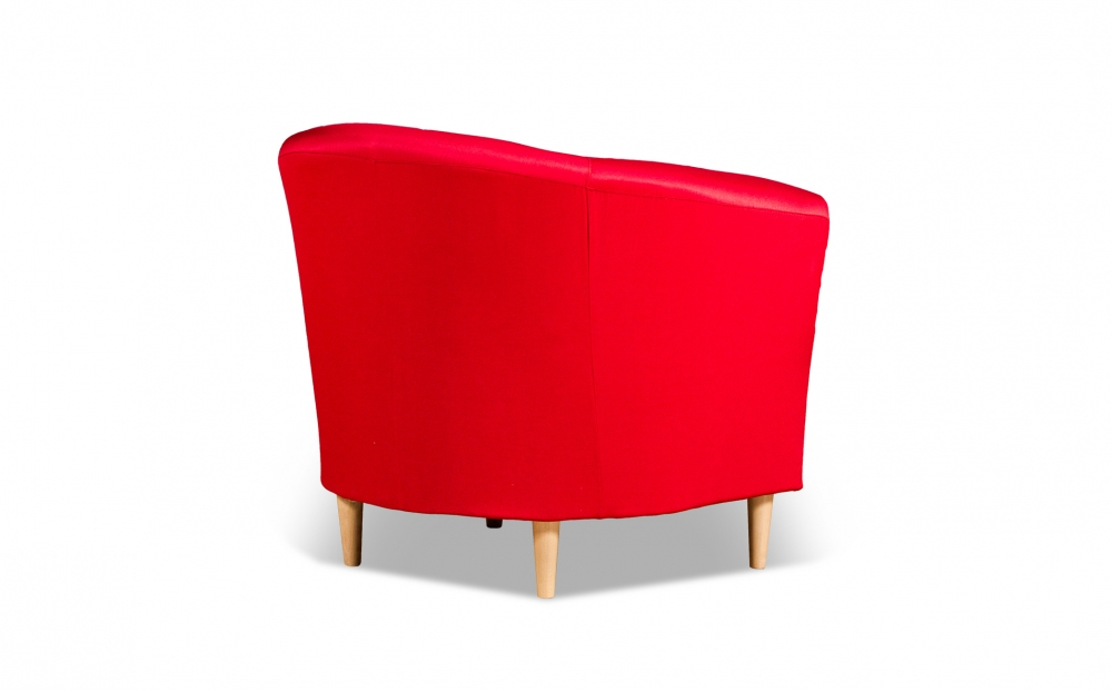 Бонн 040.08 кресло 1х 05 красный - 2