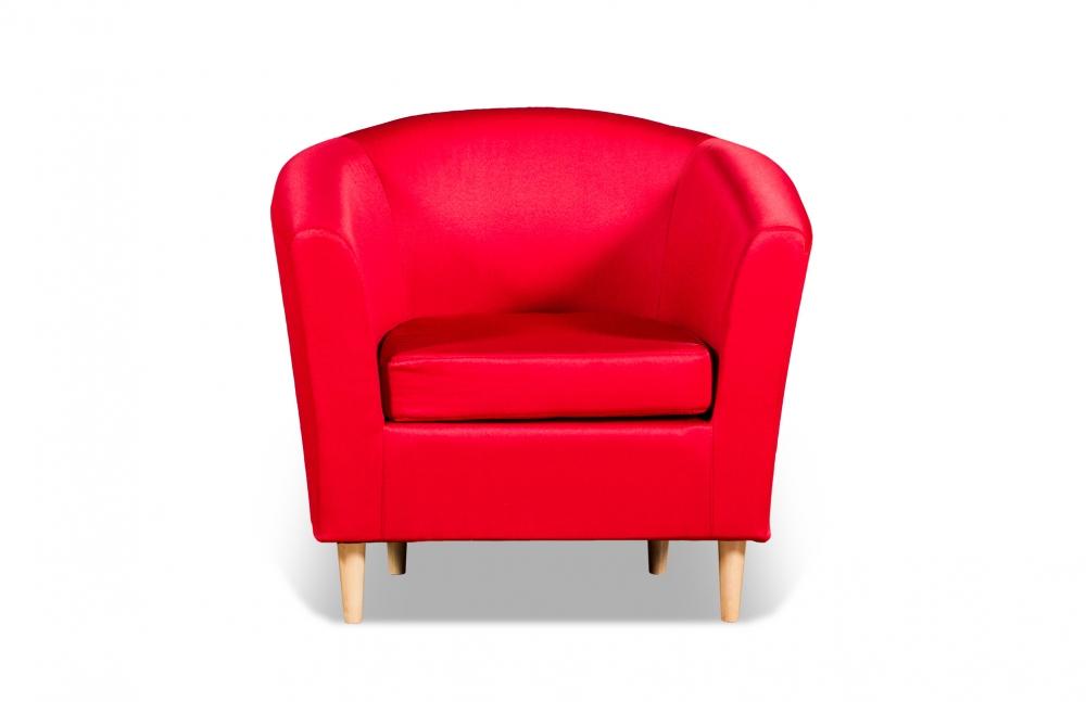 Бонн 040.08 кресло 1х 05 красный - 1