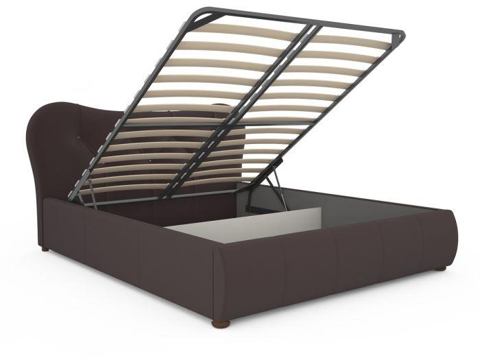 Лавита 253 160 Кровать коричневая - 2