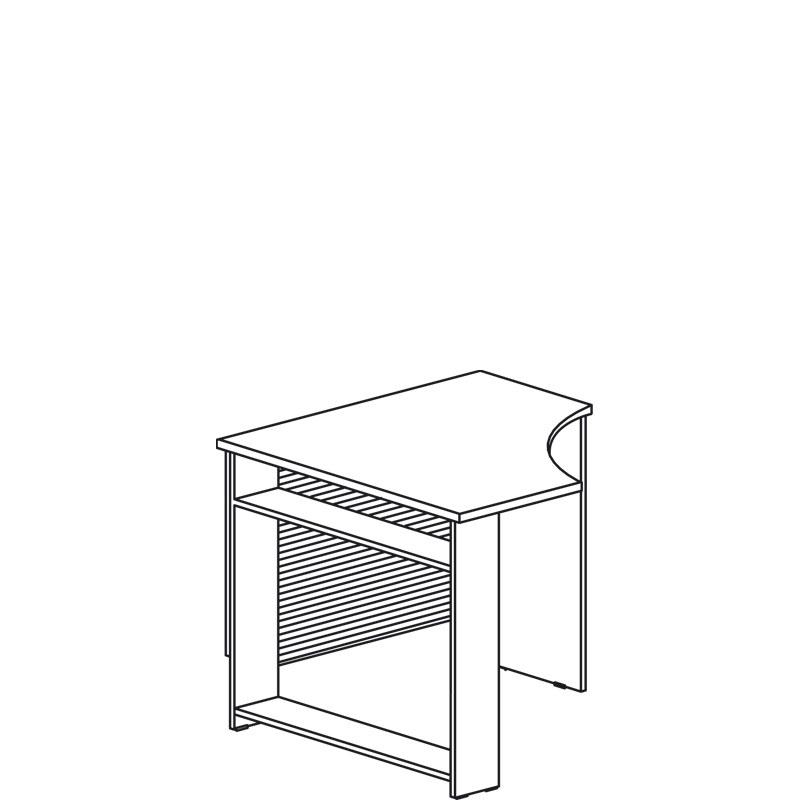 Индиго 755 Стол угловой
