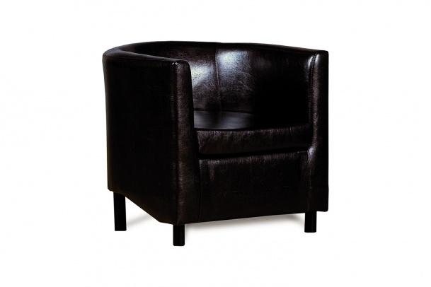 Дисо 3 042.08 кресло 1х К/З Рекс 320 коричневый