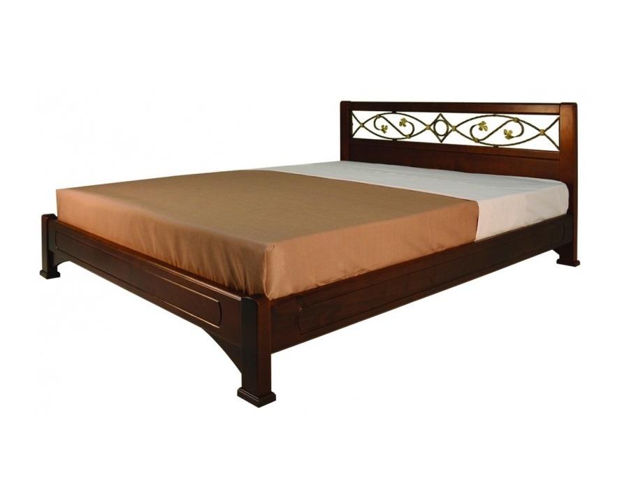 Омега Классика (Нимфа) кровать без спинки в ногах