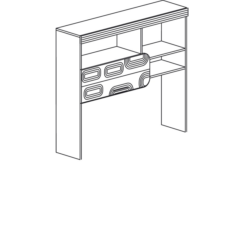 Индиго 750 Надставка стола