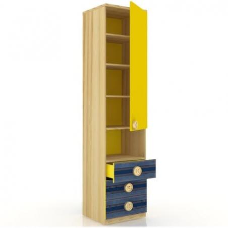 Джинс ЛД.507.040.000 шкаф-пенал с ящиками - 17541