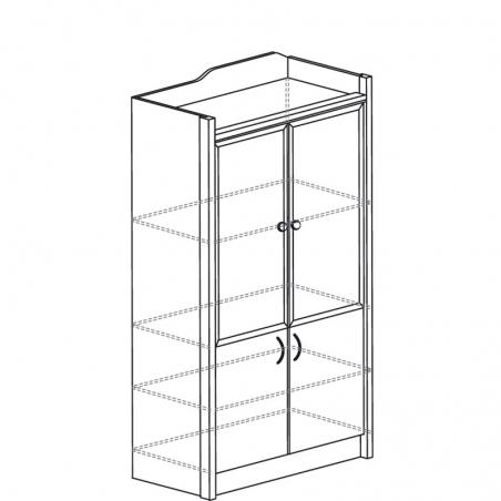 Колумб 703 Шкаф для книг - 18208