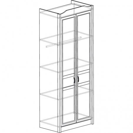 Леон  531 Шкаф 2-дверный - 18164