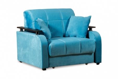 Неаполь 086 диван-кровать 1а 80 С68/Б88/П00 245бирюза - 19326