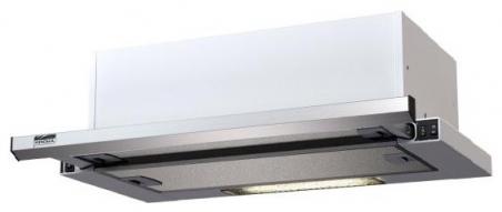 Krona steel KAMILLA slim 500 INOX/INOX вытяжка - 19214