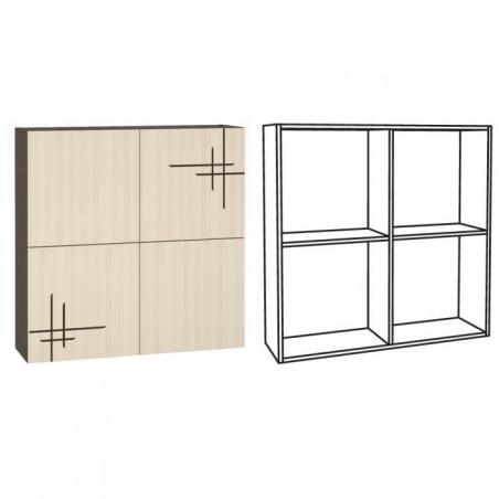 Киото 904 Шкаф навесной арт. к-01 - 17368