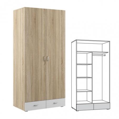 Линда 305 Шкаф 2-дверный - 17985