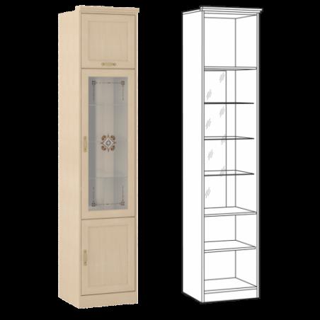 Флорида 1 502 Шкаф-витрина - 17432