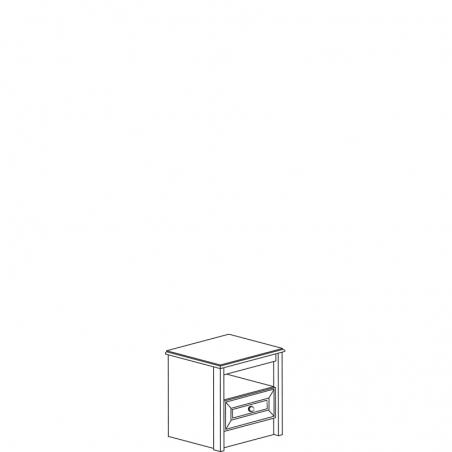 Леон 542 Тумба прикроватная - 18156