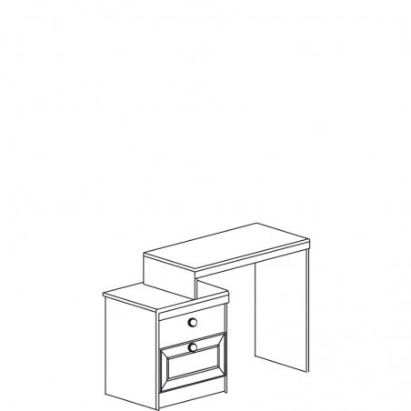 Инна 630 Стол туалетный - 18636