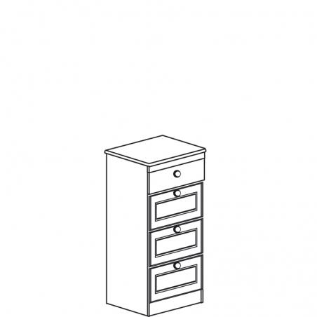 Инна 626 Тумба 4 ящика - 18633