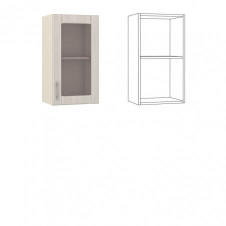 Катрин Шкаф навесной 40 с витриной - 18526