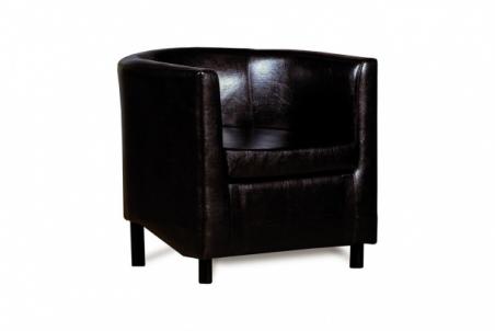 Дисо 3 042.08 кресло 1х К/З Рекс 320 коричневый - 18856