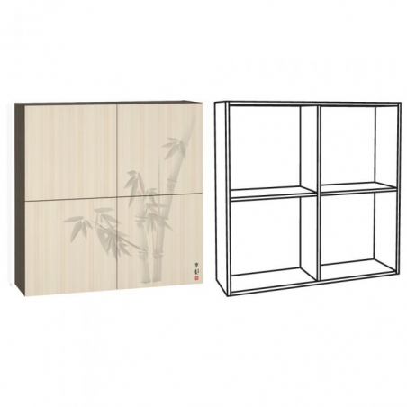 Киото 904 Шкаф навесной арт. к-02 - 17369