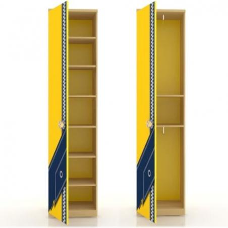 Джинс ЛД.507.020.000 шкаф одностворчатый - 17539
