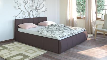 Афина 2812 160 Кровать коричневая - 17868