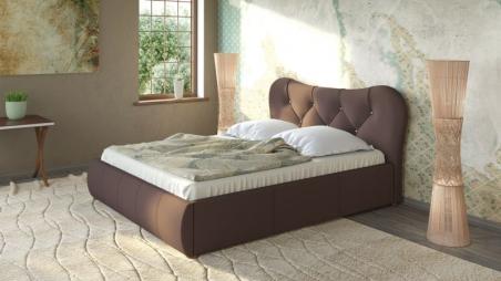 Лавита 253 160 Кровать коричневая - 17870