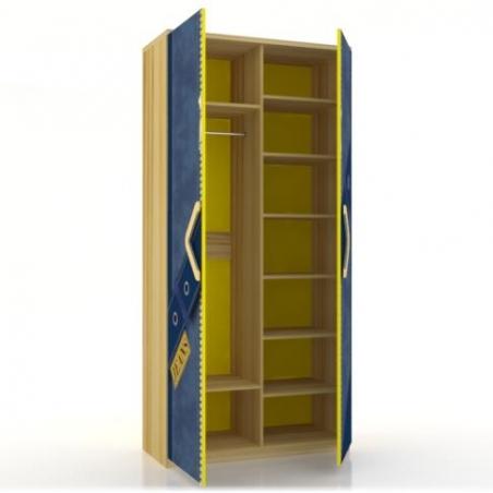 Джинс ЛД.507.010.000 шкаф двухстворчатый - 17538