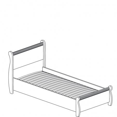 Леон  545 Кровать одинарная - 18170