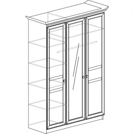 Инна 625 Шкаф 3-дверный - 18638