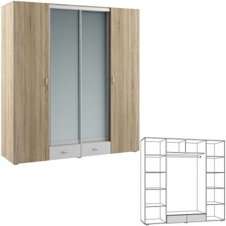 Линда 312 Шкаф 4-дверный - 17986