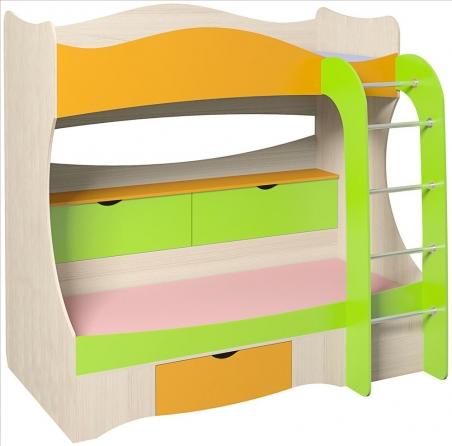 Кровать двухъярусная «Почемучка» - 19614