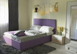 Прага 160 Кровать Савана Виолет (фиолетовый)