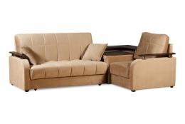 Неаполь 086.07 диван-кровать 3а 140-э-1я С69, Б88, П00 75кор