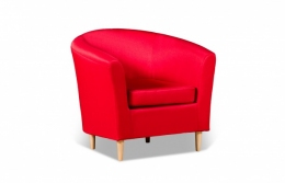 Бонн 040.08 кресло 1х 05 красный